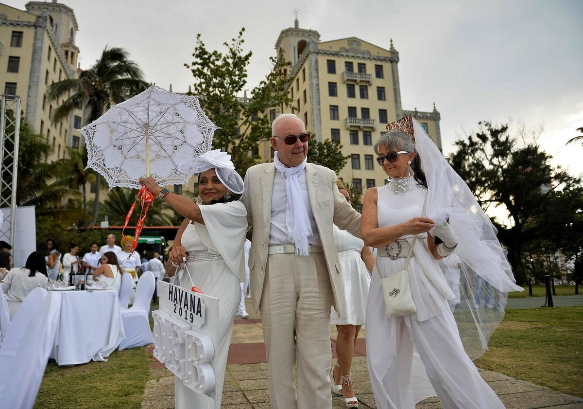 Мероприятие Ужин в Белом 2019 в Гаване