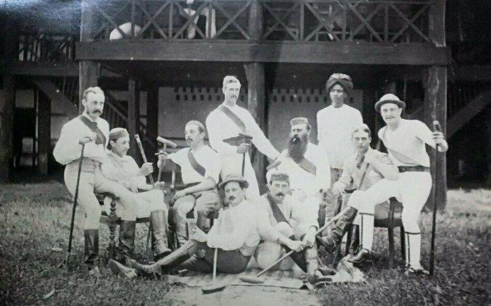 Уникальные снимки о жизни британских колониалистов в Бирме