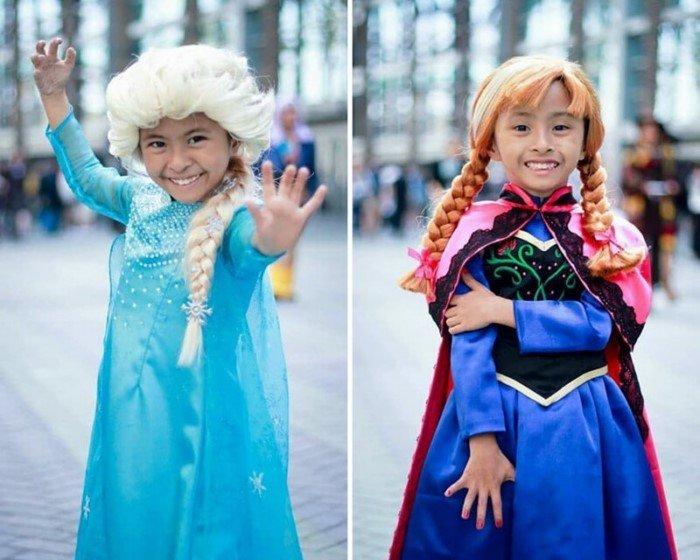11-летние близнецы впечатляют невероятными косплеями