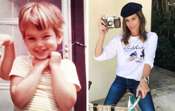 Детские снимки знаменитостей