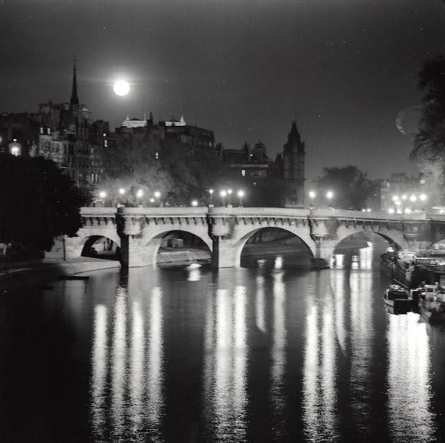 Париж 50-х годов на снимках Киса Шерера