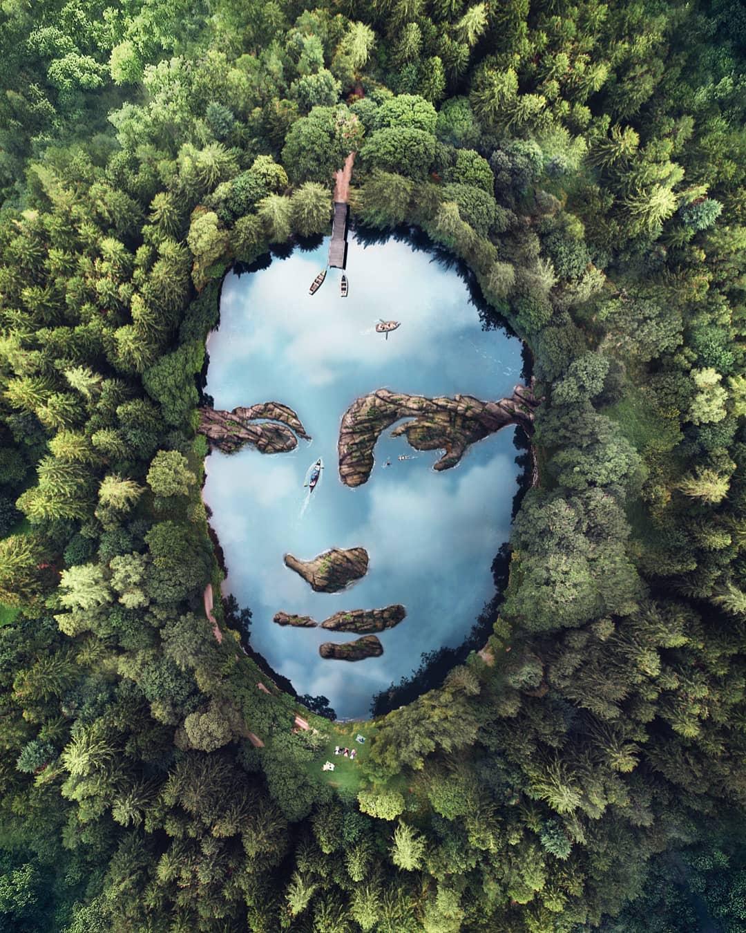 Удивительные фотоманипуляции от Фабьена Барро