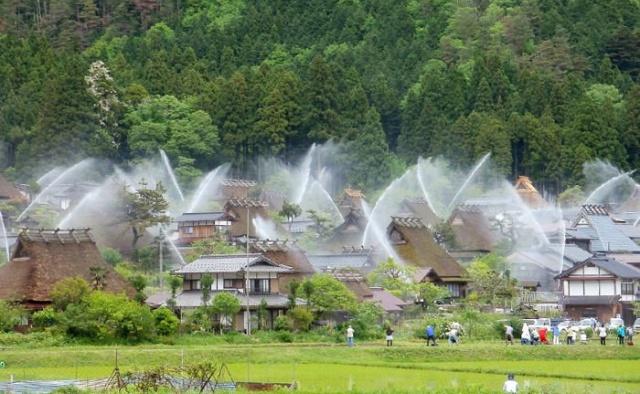 Необычные снимки японской деревни