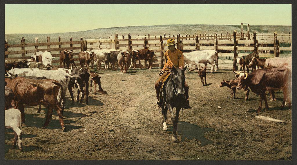 Невероятные цветные фотографии настоящего Дикого Запада