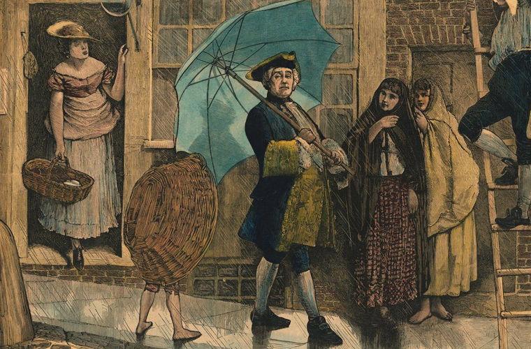 О сложной судьбе обычного зонтика