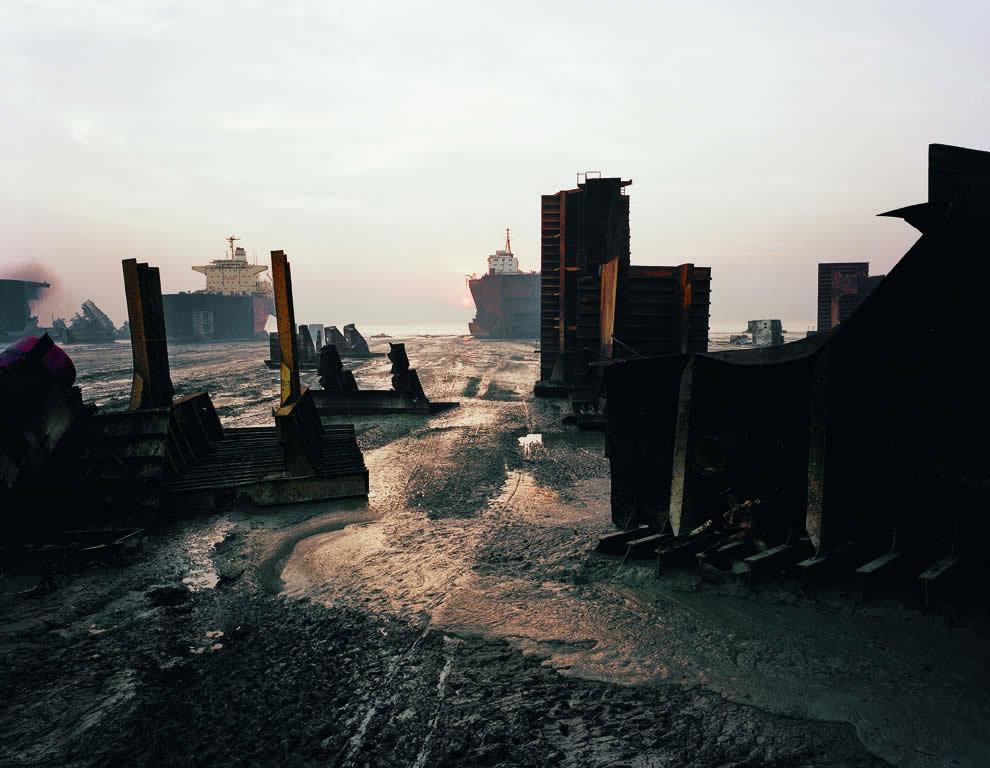 Самое известное кладбище кораблей в мире
