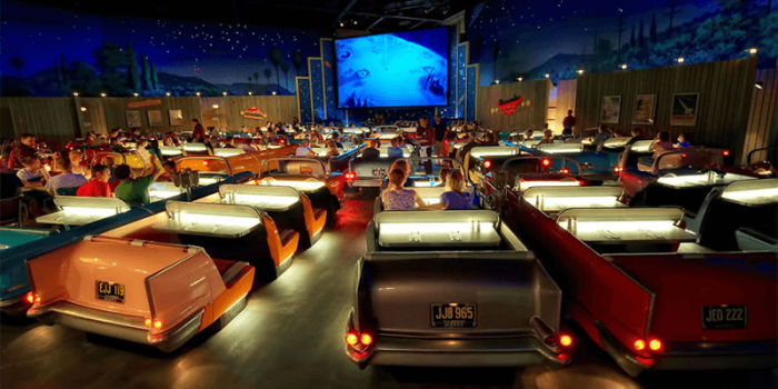Необычные атмосферные кинотеатры мира