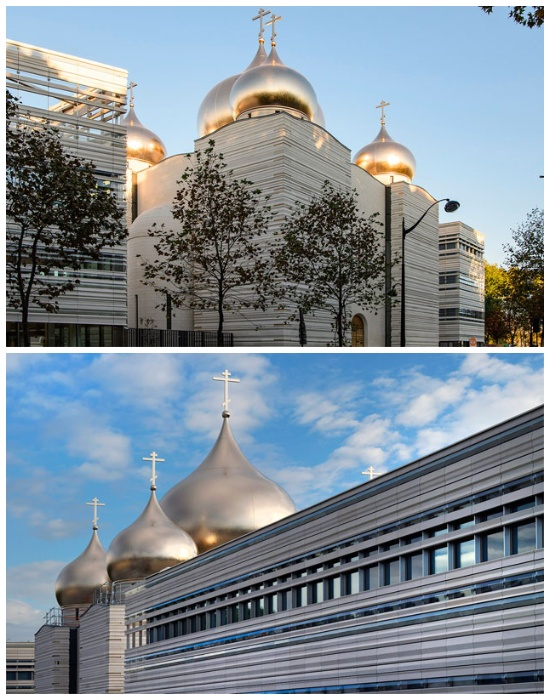 Архитектура Парижа в постмодернистском стиле