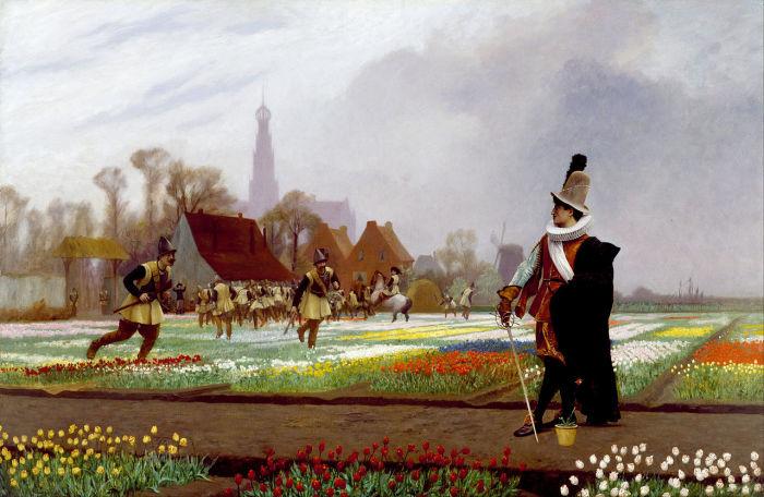 Голландская тюльпаномания — первая финансовая пирамида в истории
