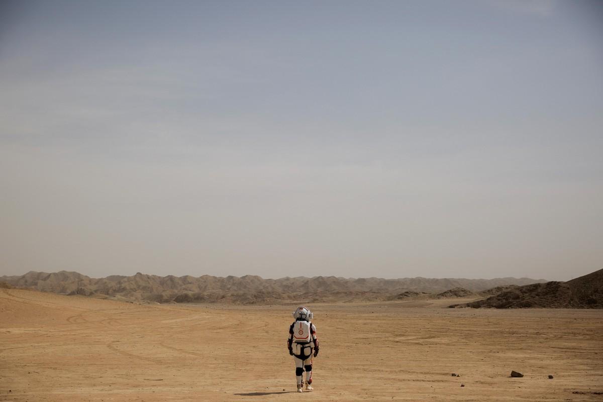 Марс в китайской пустыне Гоби