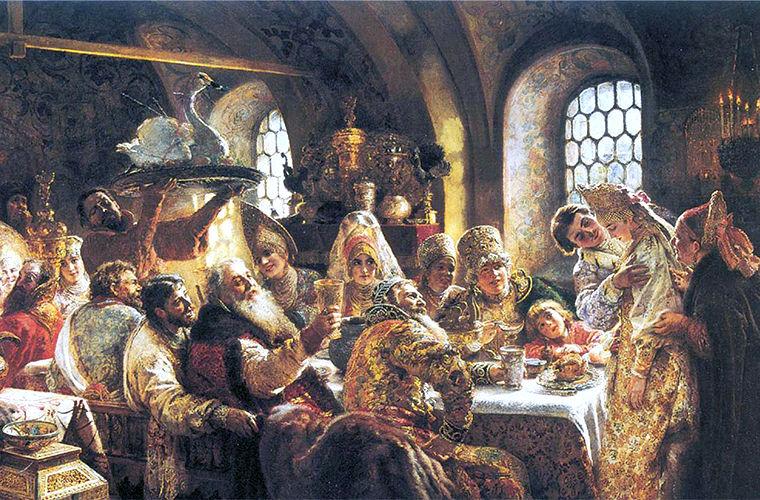 Необычные блюда древнерусской кухни
