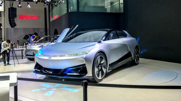 Новые необычные автомобили из Китая