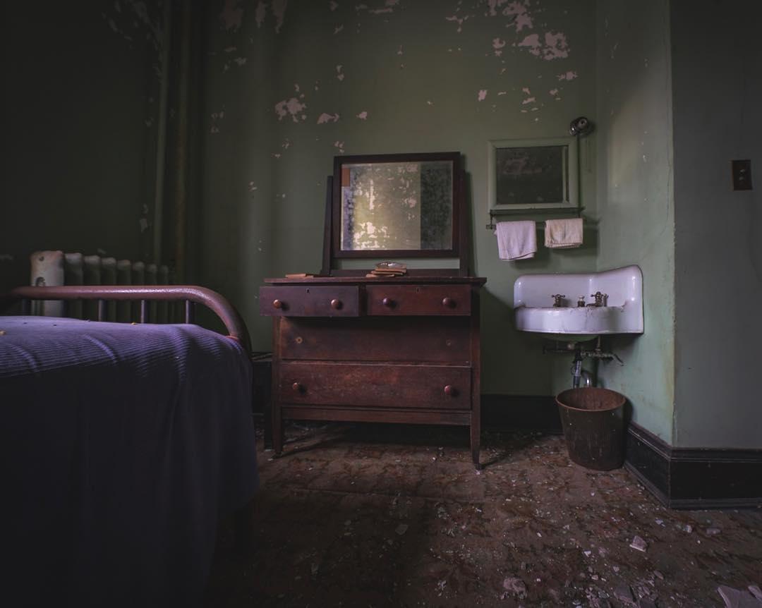 Заброшенные и пустующие места на снимках Фреда Шнайдера