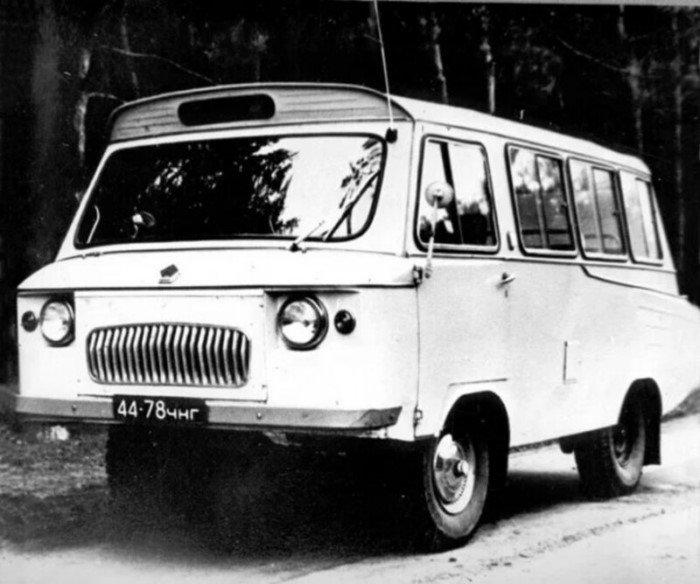 Известные и забытые автобусы СССР