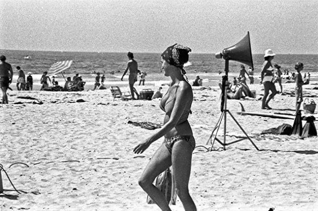 Калифорнийский пляж 50 лет назад