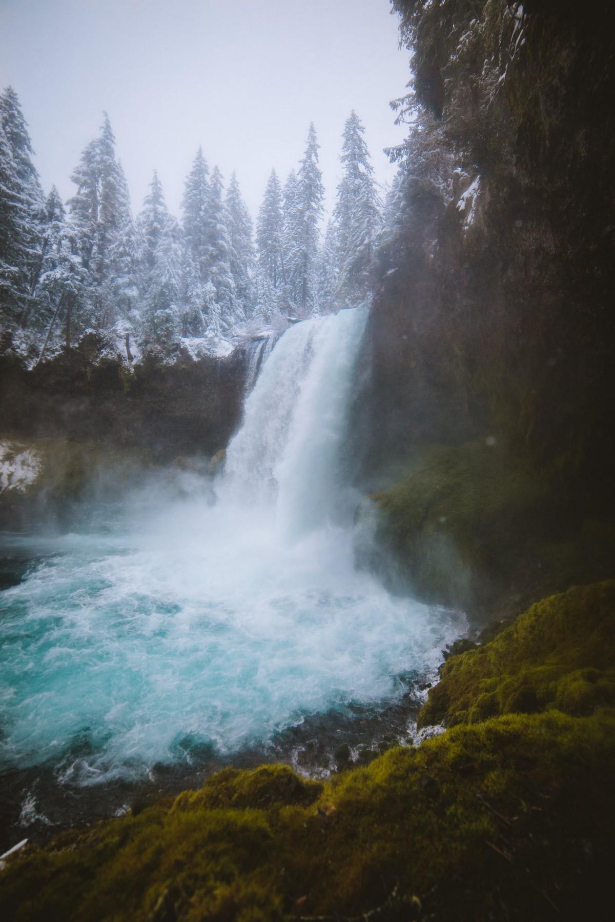Красота горных пейзажей на снимках Люка Конаржевски