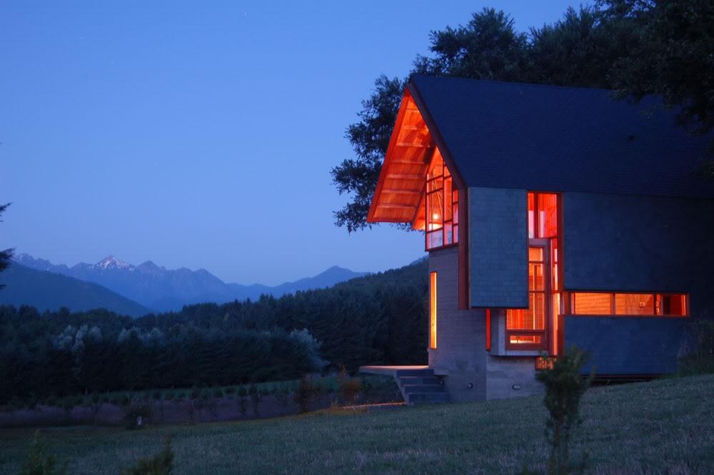 Необычный дом в Чили