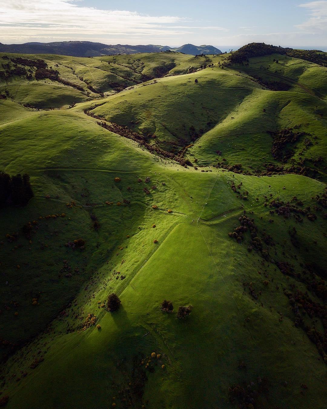 Пейзажи Австралии на аэрофотоснимках Джереми Герберта
