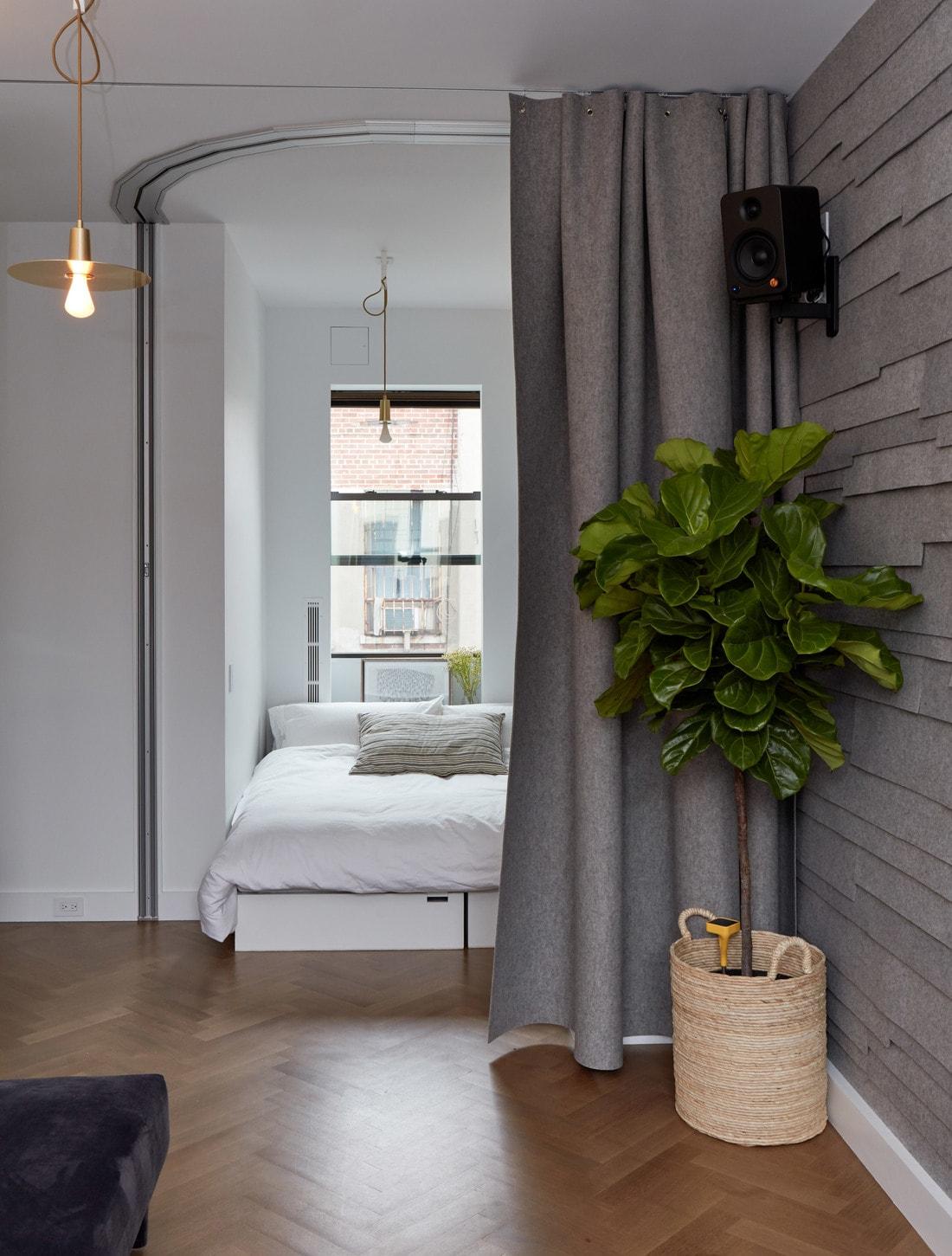 Небольшая квартира с эффективно организованным пространством