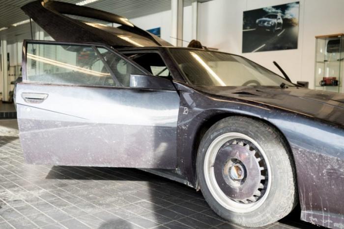 Битурбированный BMW M1, созданный для рекорда скорости на газе