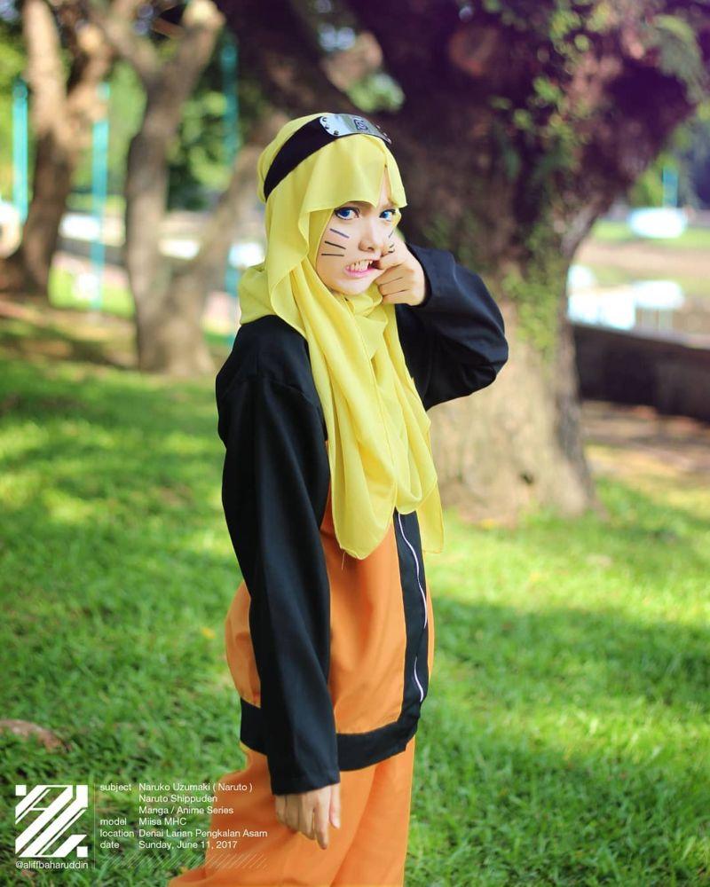 Девушка из Малайзии круто косплеит, не снимая хиджаба