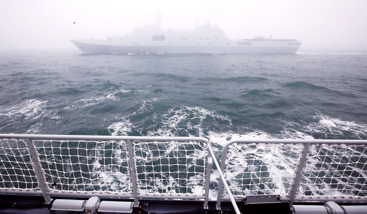 Международный военно-морской парад в Китае