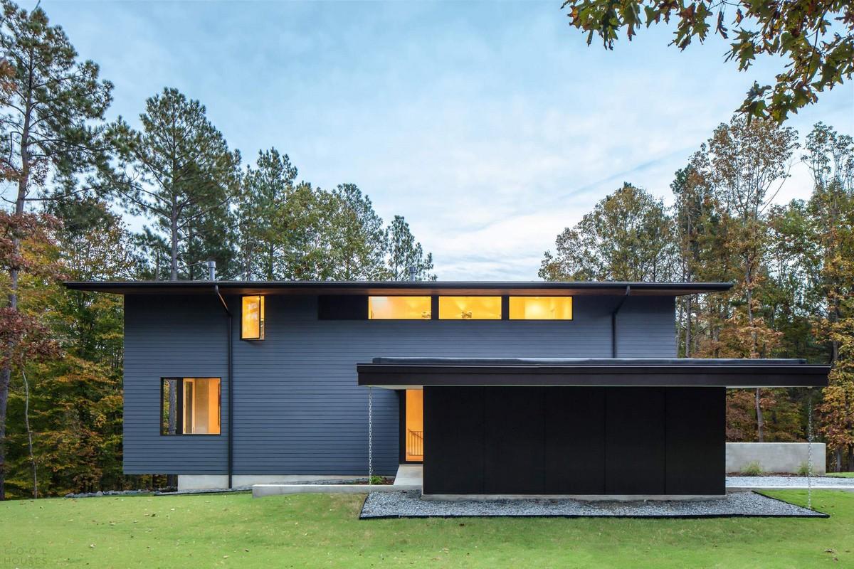 Современный семейный дом в США