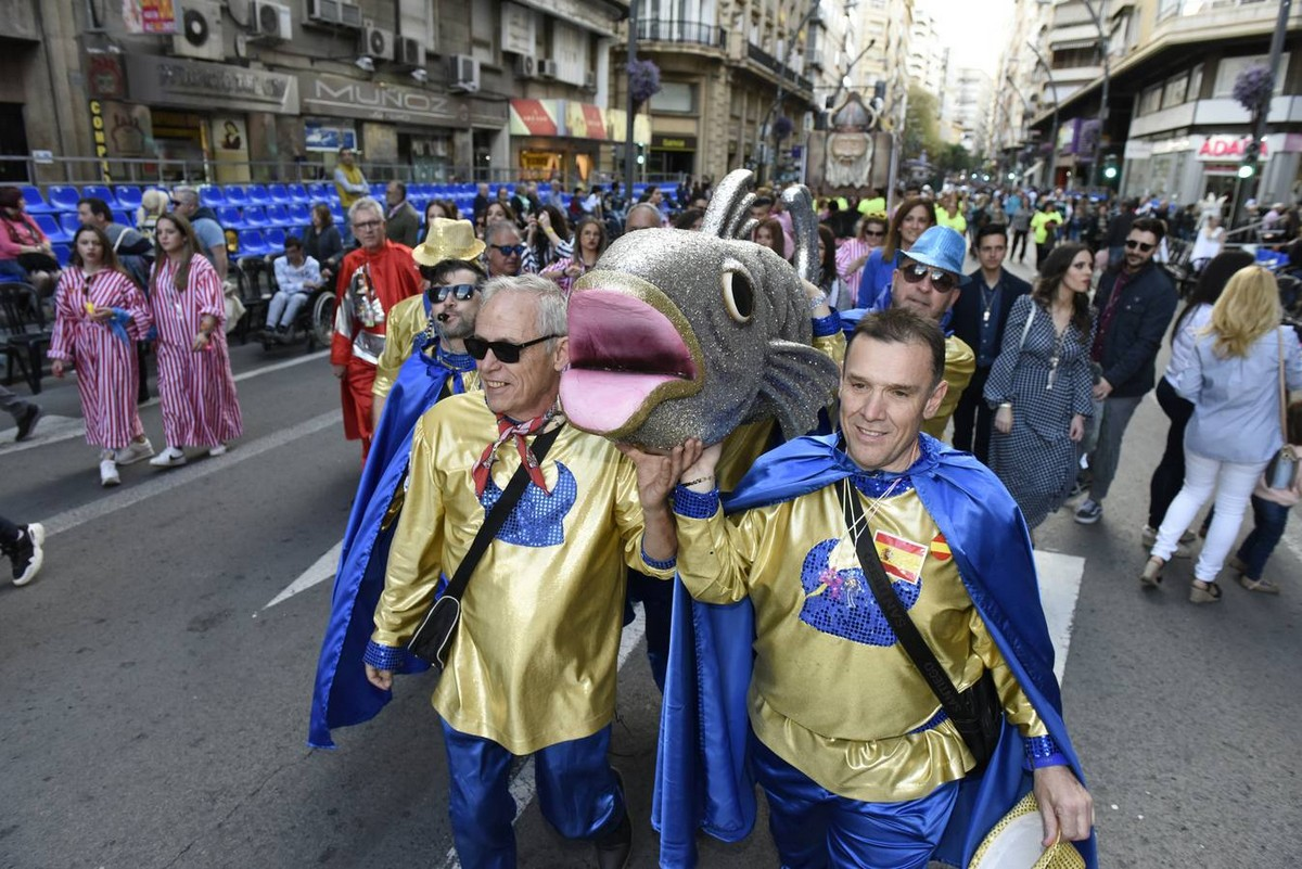 Парад в честь сардины в Мурсии