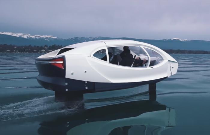 Водное такси SeaBubbles из будущего