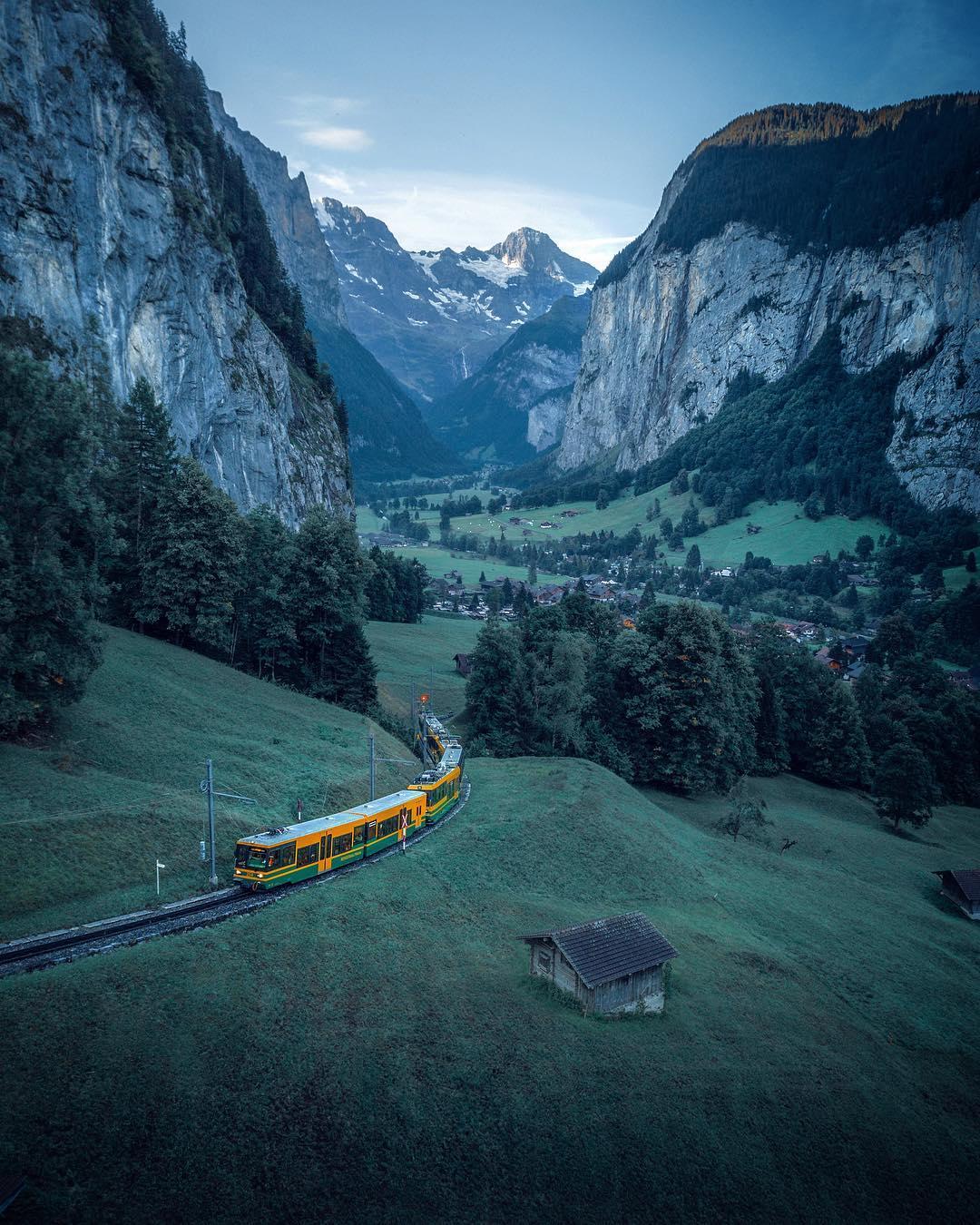 Захватывающие пейзажные снимки от Хеджи Бенджамина