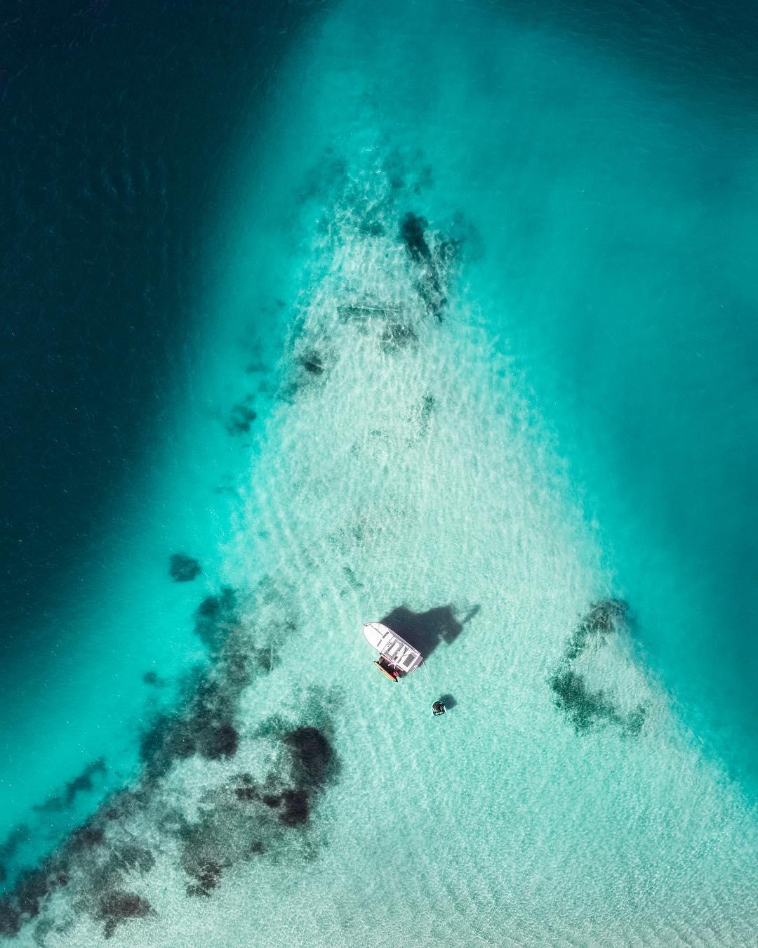 Австралия с высоты на аэрофотоснимках Джона Дина