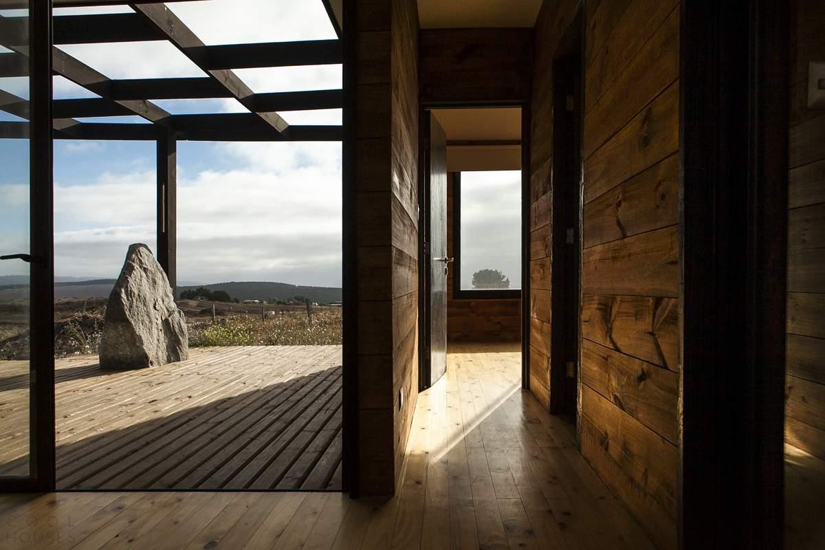 Современный сборный дом в Чили
