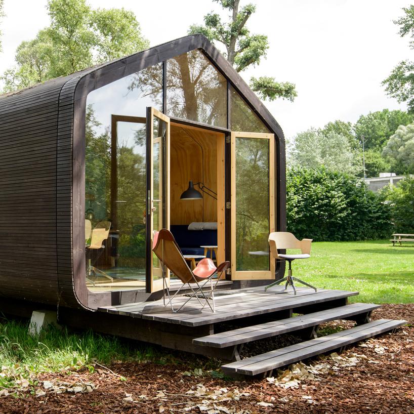 Голландцы создали компактный дом из картона