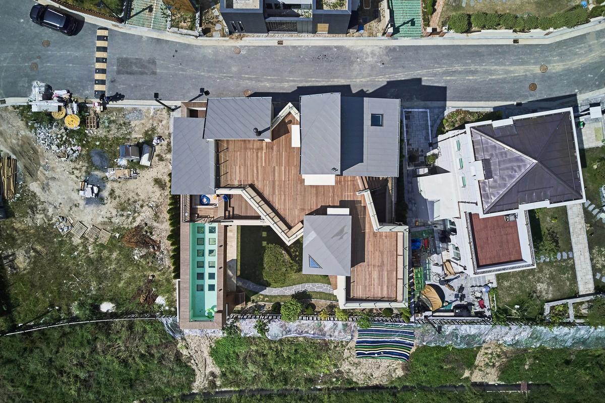 Городская деревня в Южной Корее