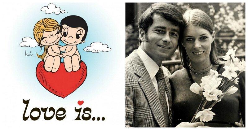 История создания комиксов Love is…