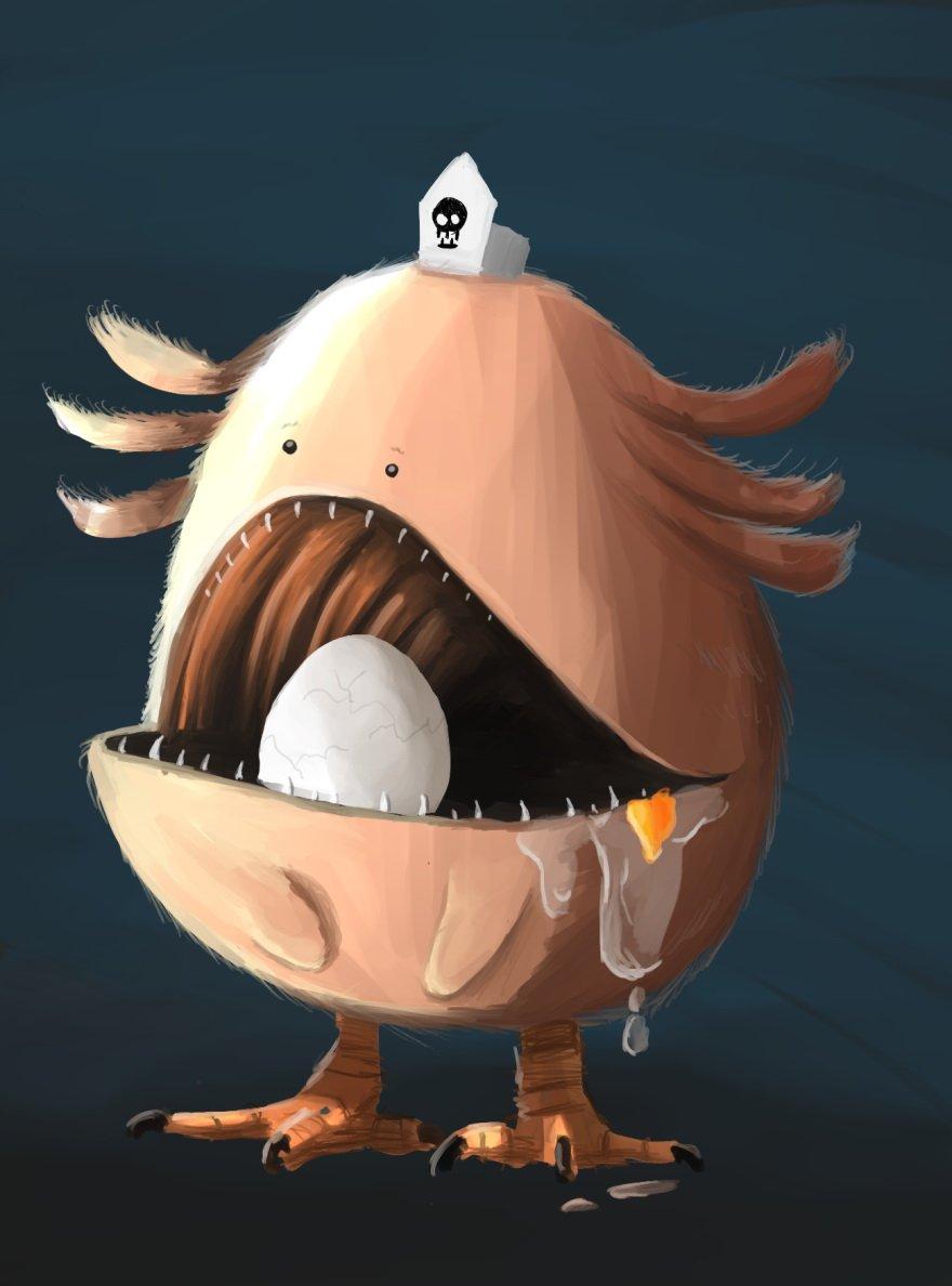 Художник изобразил покемонов в виде настоящих монстров