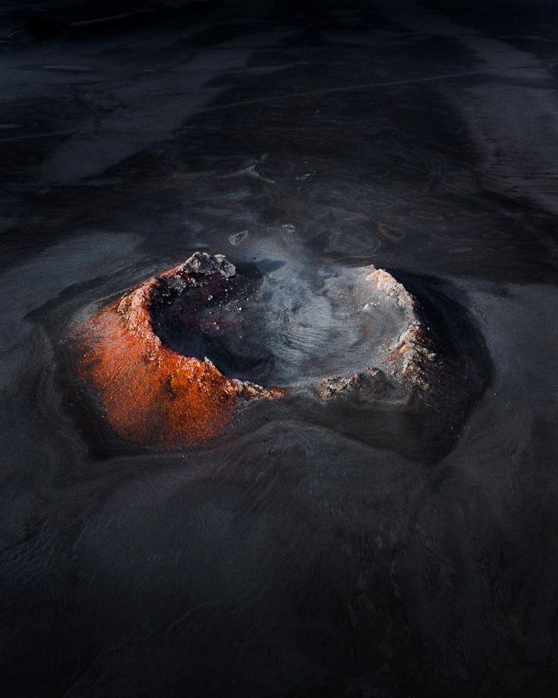 Захватывающие аэрофотоснимки Исландии
