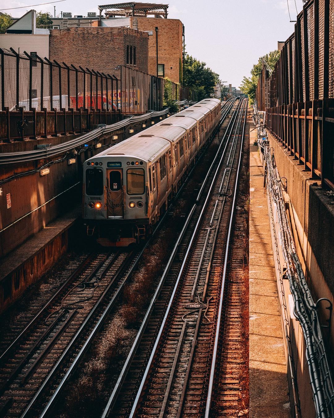 Городские и уличные снимки Чикаго от Ника Кроуфорда