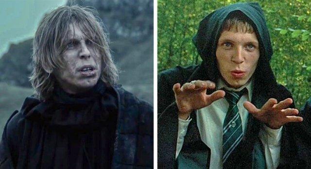Актеры сериала Игра престолов, которые снимались и в Гарри Поттере