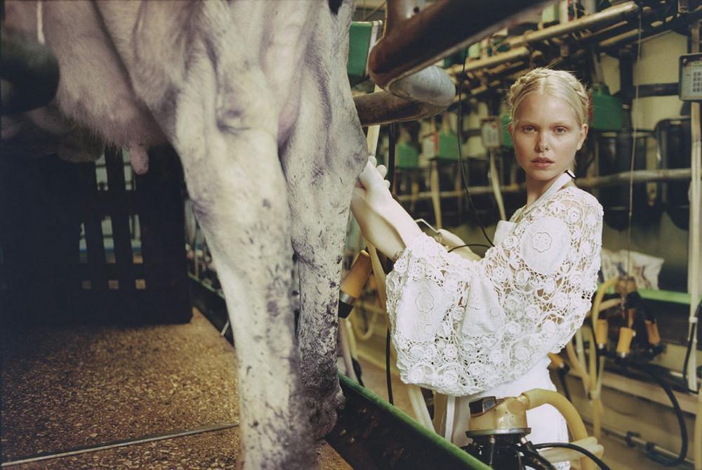 Сюрреалистическая мода на снимках Михала Пуделка
