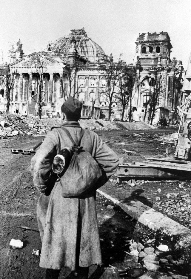 Разрушенный Берлин на фотографиях 1945 года