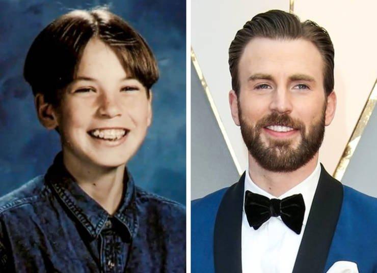 Зарубежные знаменитости в детстве и сейчас