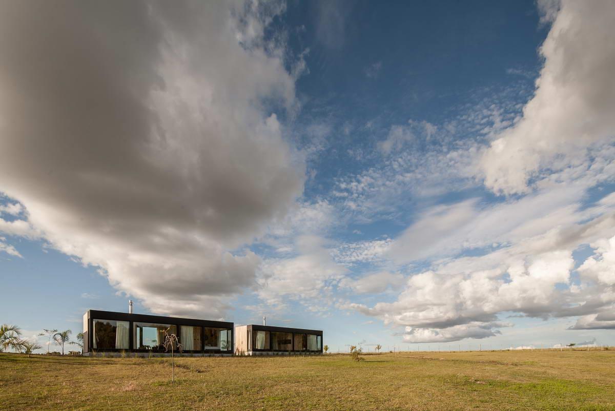 Минималистский домик в Уругвае
