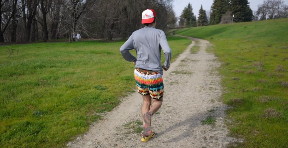 Модные мужские вязаные шорты и трусы