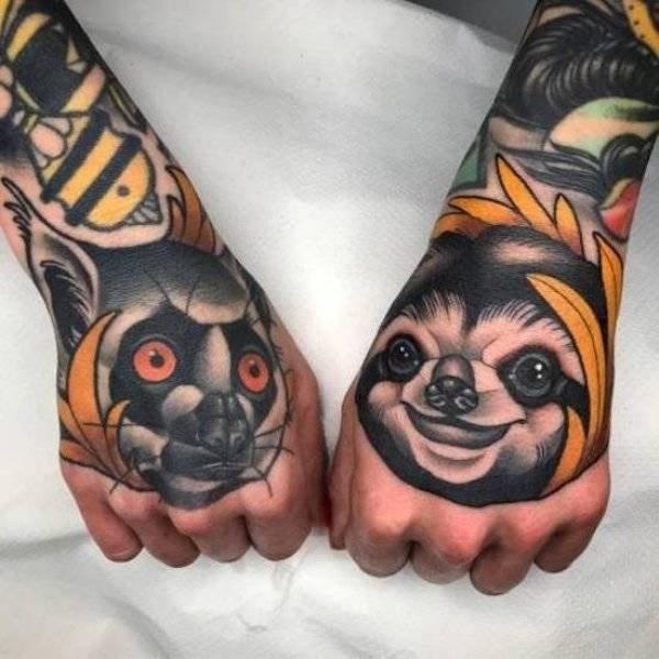Красивые татуировки как искусство