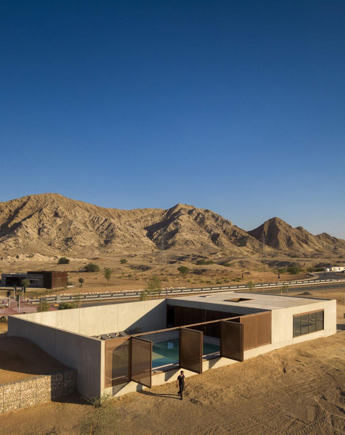 Спа-отель в песках пустыни ОАЭ