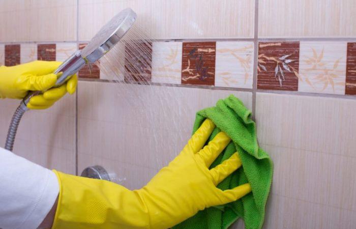 Простые способы очистить плиточные швы