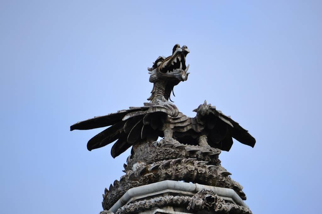 Csodálatos sárkány szobrok a világ minden tájáról