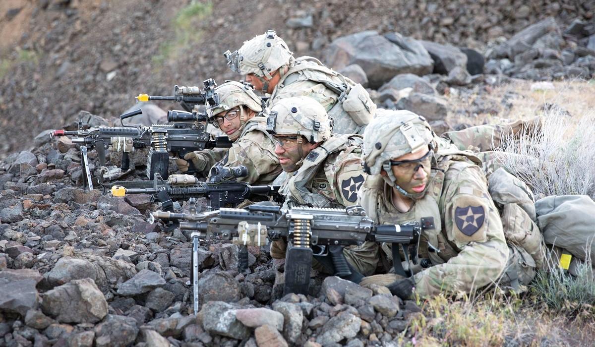Бравые американские солдаты в объективе военных корреспондентов