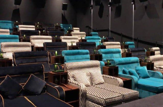 Уникальный кинотеатр в Швейцарии